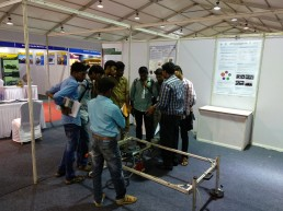 IGSTC at IISF 2017, Chennai